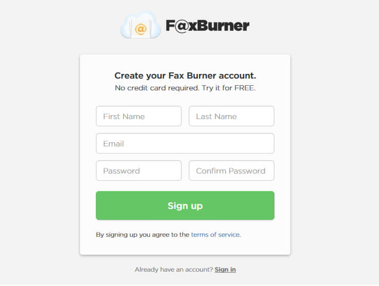 Fax Burner - BestOnline Fax